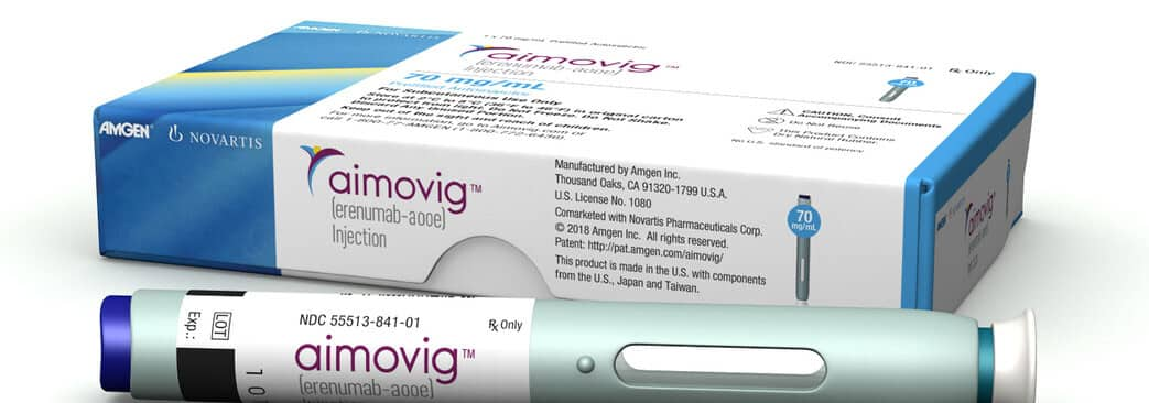 Aimovig Migraine Treatment Once Monthly Injection
